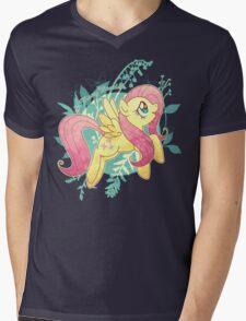 Flutter Nature Mens V-Neck T-Shirt