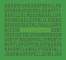 Harry Potter Wordsearch Kids Clothes