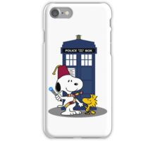Snoopy Who. iPhone Case/Skin