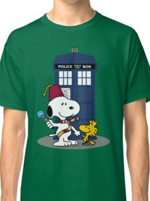 Snoopy Who. Classic T-Shirt