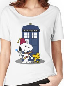 Snoopy Who. Women's Relaxed Fit T-Shirt