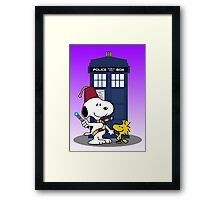 Snoopy Who. Framed Print