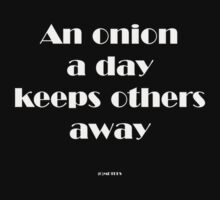 An onion a day by michelleduerden