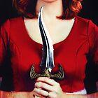 Female assassin by Sharonroseart