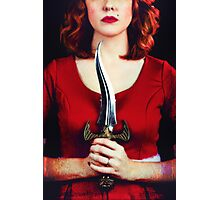 Female assassin Photographic Print