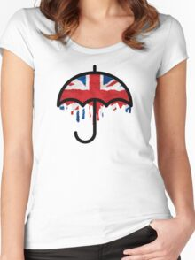 British weather Women's Fitted Scoop T-Shirt