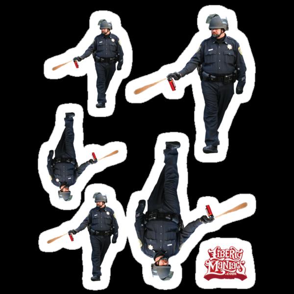 UC Davis Peeper Spray Cop by LibertyManiacs