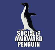 Socially Awkward Penguin [SAP] Unisex T-Shirt