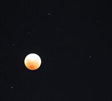 Lunar Eclipse, Perth Australia 10 December 2011 by joannexx