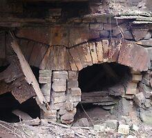 Brick Furnace by WisePhoto