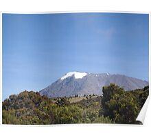 Mt. Kilimanjaro Up Close Poster