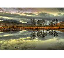 Rannoch Moor, Glencoe, Scotland Photographic Print
