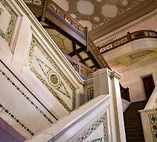 The Marble Stairway by Adam Bykowski