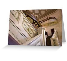 The Marble Stairway Greeting Card