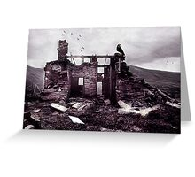 Desolate Beauty Greeting Card