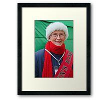 A Christmas Smile ~ Bridport Framed Print