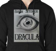 Bram Stoker Dracula Zipped Hoodie