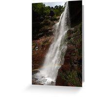 Lower Catskills waterfalls view Greeting Card