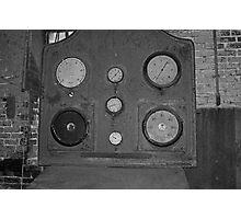 Factory Gauges Photographic Print