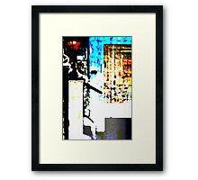 First Light Abstract Framed Print