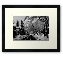 A Good Day to Hibernate Framed Print