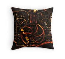 The Millennium Clock Tower at Edinburgh Royal Museum Scotland Throw Pillow