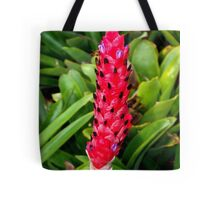 Stalk-like bromeliad Tote Bag