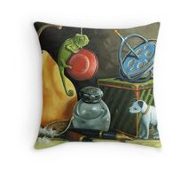 YoYo - Still Life Oil Painting Throw Pillow