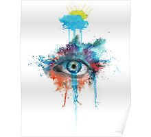 Woman's Eye Poster
