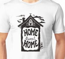 Home Sweet Home -with bats, cats and batcats Unisex T-Shirt