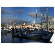 WATERFRONT - FALMOUTH. Poster
