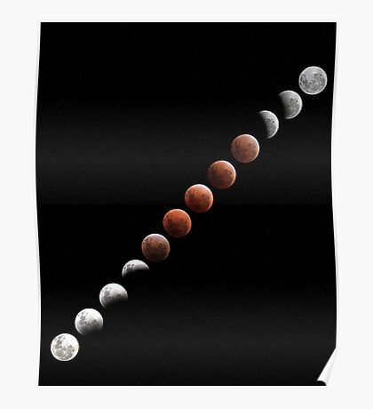Lunar Eclipse - December 10 2011 Poster