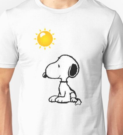 Happy snoopy Unisex T-Shirt