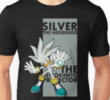 Silver The Hedgehog Unisex T-Shirt