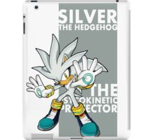 Silver The Hedgehog iPad Case/Skin