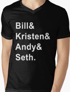 "SNL ""Show-Stealers"" Jetset Tee Mens V-Neck T-Shirt"
