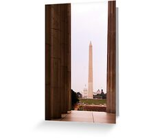 Monument View Greeting Card