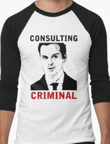 Consulting Criminal Men's Baseball ¾ T-Shirt