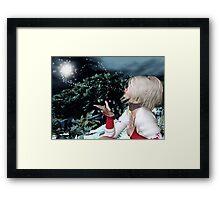 An Enhanted Winter Scene # 2 Framed Print