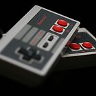 Nintendo Controllers by Michelle Callahan