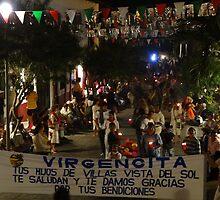 The first procession of the day - La primera procesión del dia by Bernhard Matejka