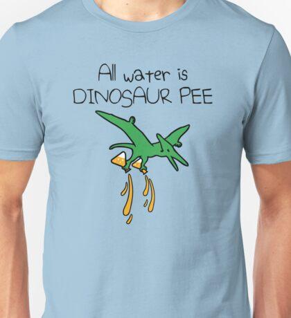 All Water Is Dinosaur Pee (Pterodactyl) Unisex T-Shirt