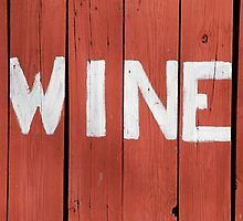 Wine Sign by William Fehr