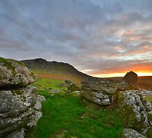 Dartmoor: Sunrise at Sheepstor by Rob Parsons