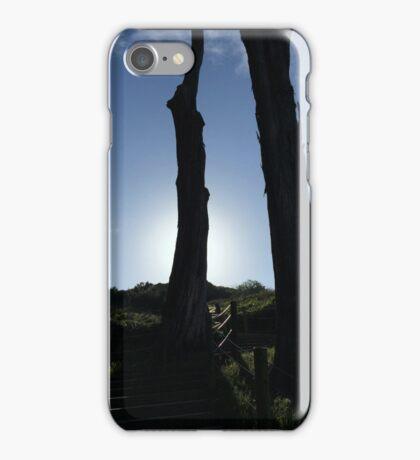 Cypress Tree Sunset iPhone Case/Skin