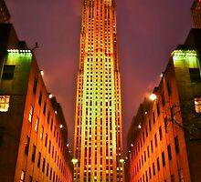 Rockefeller Center by Evelina Kremsdorf