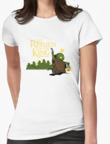 Return of the King Womens Fitted T-Shirt