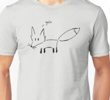 The Fox Says... Unisex T-Shirt