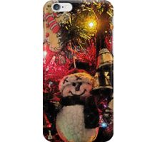Christmas Decorations on Tree iPhone Case/Skin