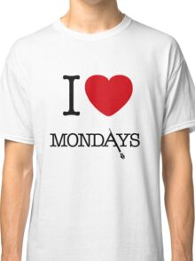 I Love Mondays- Castle Classic T-Shirt